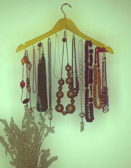 #Gruccia#collane#portacollane#jewelry#DIY