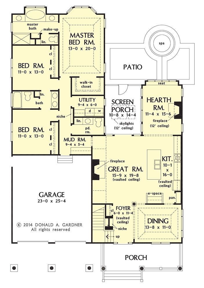 381 best House Plans images on Pinterest Floor plans Cottage and