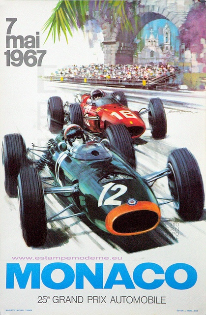 MONACO GRAND PRIX AUTOMOBILE 1967