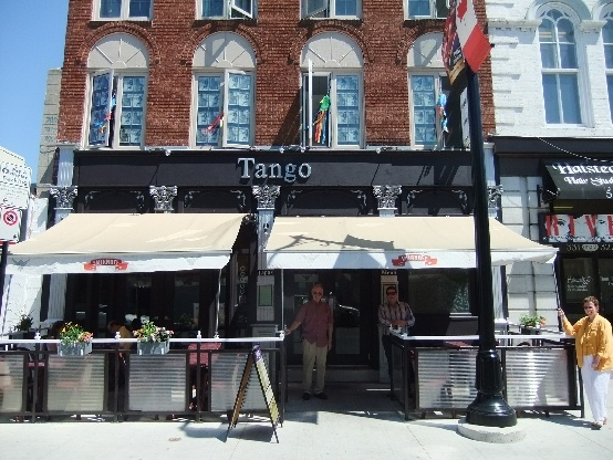 Tango is another of my favourite restaurants in the centre of town...and another one with a sunny patio