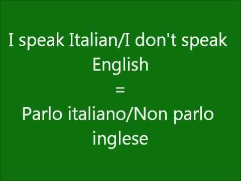 Learn a Language - Let's Learn Italian Part 2 - Get Free Italian Lessons Here
