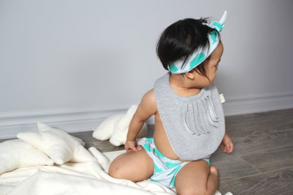 Baby bib by LelefanOrganics on Etsy