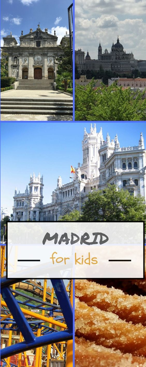 What to do in Madrid with kids? In this guide, we share our favourite things to do in Madrid with kids, favourite Madrid parks and Madrid must-see attractions for all ages. #Madrid #spain #familytravel #madridwithkids