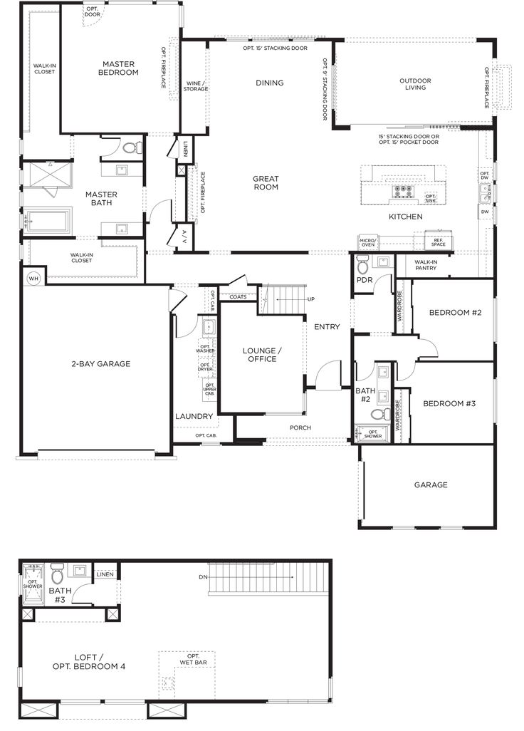 New escala plan 1xbr at inspirada in henderson 3 for Las vegas home floor plans