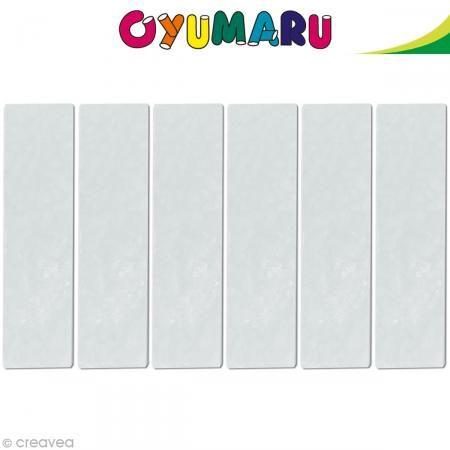 Pâte Oyumaru Transparent x 12 bâtonnets http://www.creavea.com/pate-oyumaru-transparent-x-12-batonnets_boutique-acheter-loisirs-creatifs_43967.html