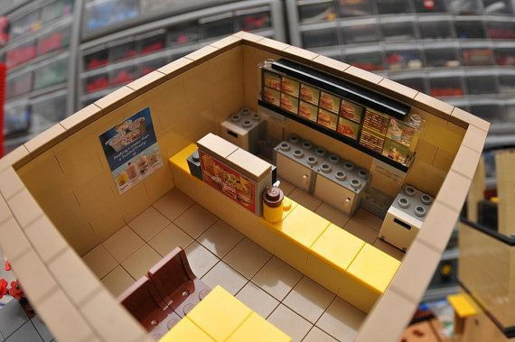 City Fast Food Hamburger Restaurant Open Late by ABSDistributors