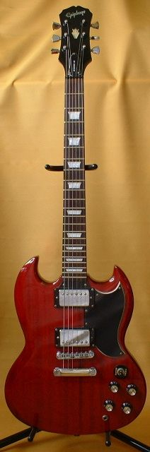 Epiphone SG Standard a guitar want for years!!