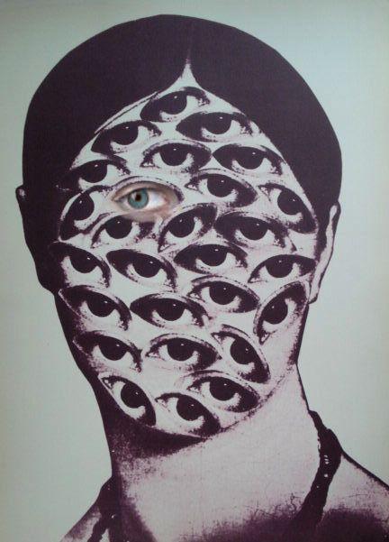 Kurt Schwitters lost blue eye  (stuffandsonenterprises)