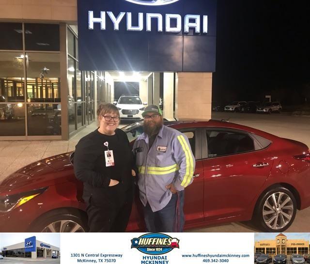 Congratulations Kylie On Your Hyundai Accent From John Mccormick At Huffines Hyundai Mckinney Huffineshyundaimckin Hyundai Happy Anniversary New Hyundai