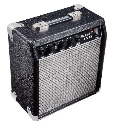 fender starcaster 15 watt electric guitar amplifier by fender starcaster the fender. Black Bedroom Furniture Sets. Home Design Ideas