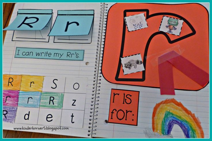 Interactive Alphabet Notebook.  This is a great product for learning to identify, write letters while also learning their sounds.  Lots of options to switch it up and keep those kids on their toes!  :-)