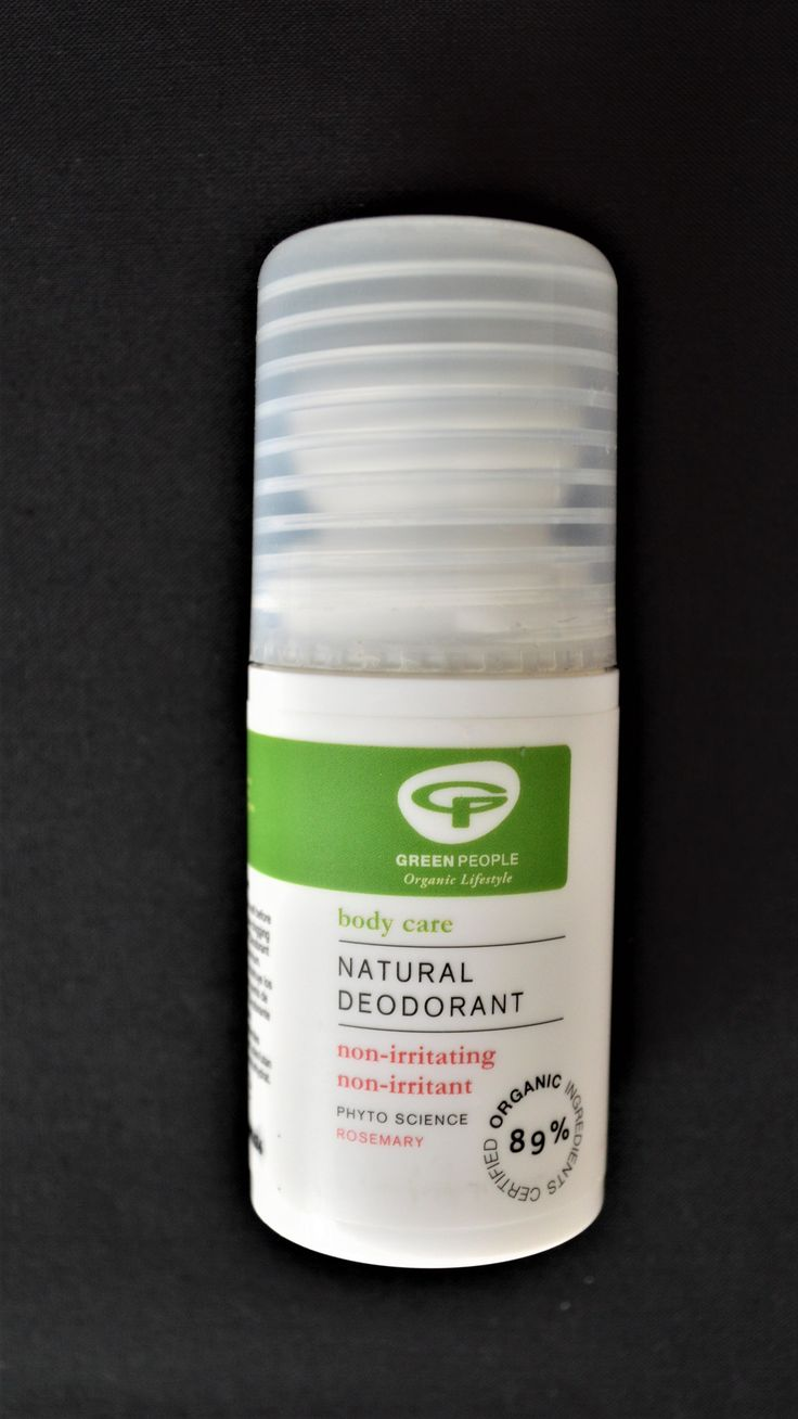 Natural Deoderant | Rosemary | Green People | Refreshing and active with anti-bacterial properties, Free from Alcohol and pore-clogging Aluminium, Will not prevent the essential process of perspiration, A delicate floral scent of Rosemary and Lavender. | (Revital.co.uk Affiliate Link)