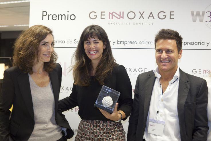 Premio Núria Roca en el Congreso Salud, Bienestar para la Mujer. #cosmetics #genetics #skincare #skinaging #DNA #diagnosis