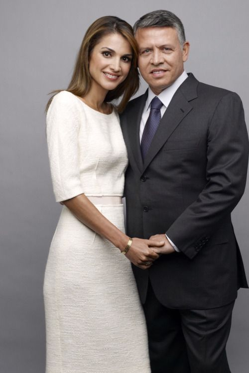 La reine de Jordanie a 45 ans - Rania, la reine...
