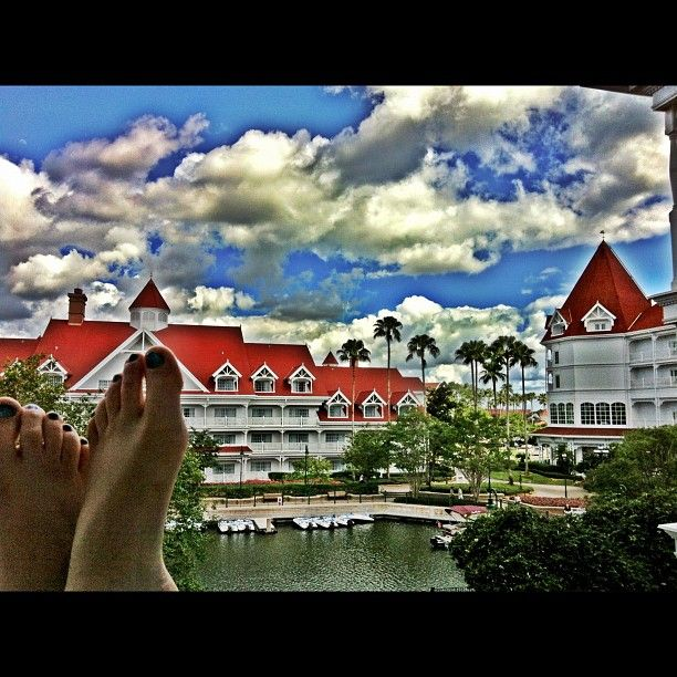 Hanging out at the Grand Floridian Resort in Orlando, FL - Photo by kfreberg • Instagram