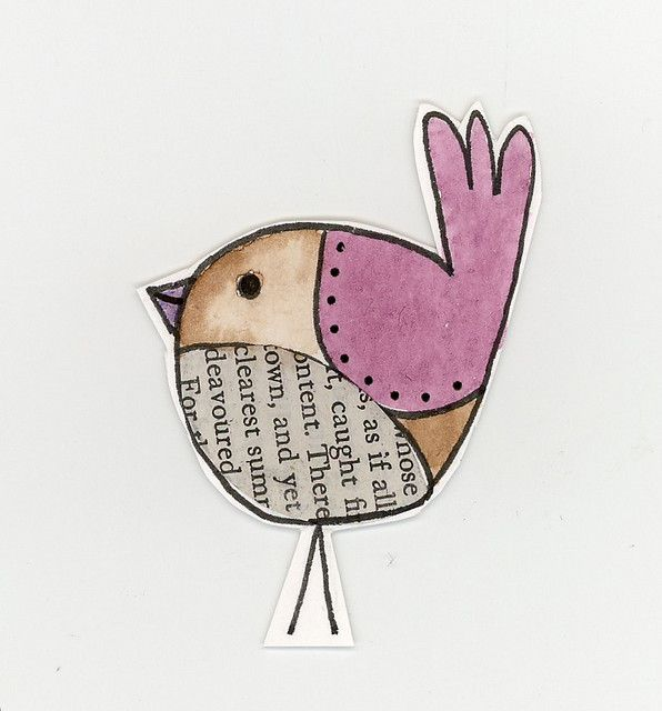 Putting the finishing touches on my Book Birds - little hand drawn and coloured birds featuring book print, in this case, A Christmas Carol. Each one is unique. I'm planning to make them into Christmas cards.
