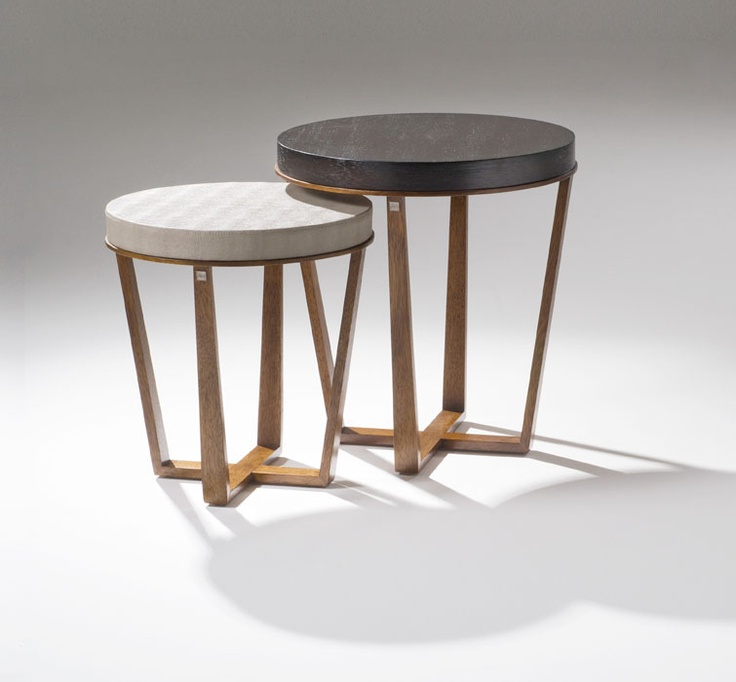 AFRICA END TABLES #hoyos #modernfurniture #contemporaryfurniture