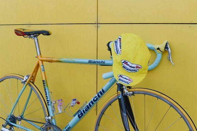 Retro pro bike: Marco Pantani's 1998 Bianchi Mega Pro XL