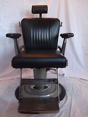 Vintage 1950 s hydraulic Belmont barber chair for sale on
