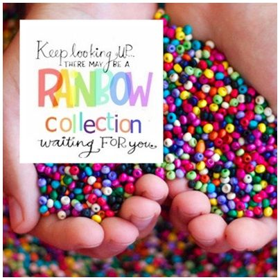 Keep looking UP... there may be a  #RAINBOWCollection waiting for you... #UniqueByMonique