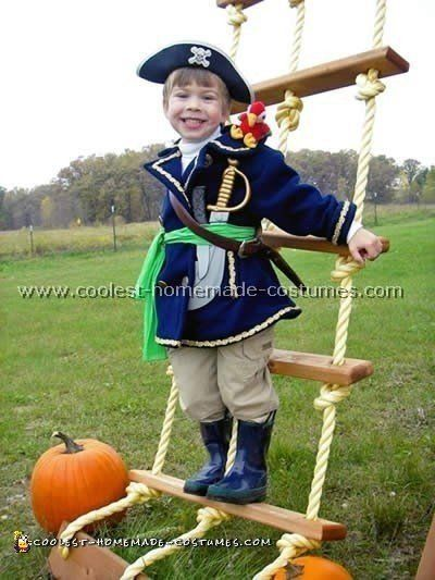 Pirate Costume Diy Boy