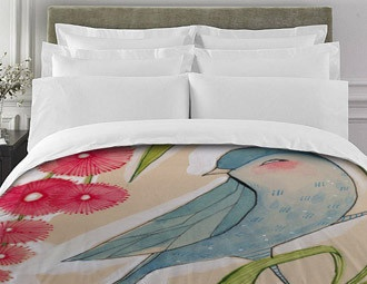 I Pinned This From The Cori Dantini   Designer Bedding, Duvet Sets U0026 More  Event At Joss And Main! I Love The Bird Designs. Wonder Why There Isnu0027t  More ...