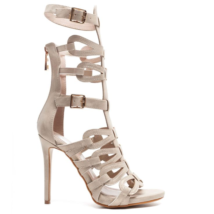 Gold #gladiator sandal boot type