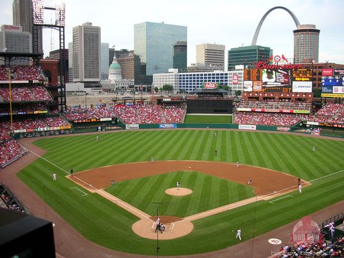 Busch Stadium, St. Louis MO: Busch Stadiums, Baseball Stadiums, Favorite Places, Baseb Parks, St. Louis Cardinals, Stl Cardinals, Baseb Heavens, Baseb Stadiums, Hot Dogs