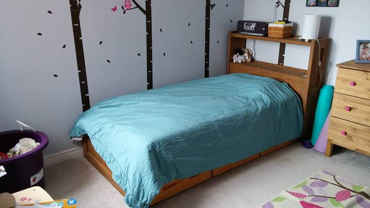 Healthy Bedroom: Non-toxic bed for kids