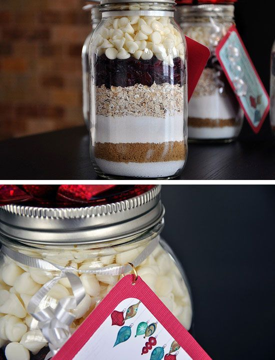 Cookie Mix in a Jar | DIY Holiday Gift Ideas for Men | DIY Christmas Gift Ideas for Boyfriend