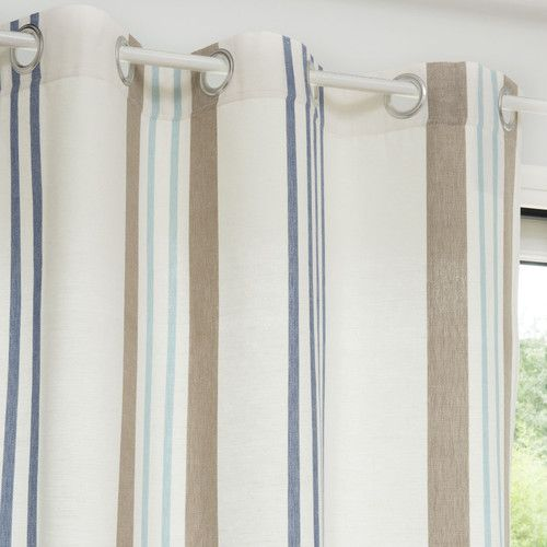 Best 25 country eyelet curtains ideas on pinterest small eyelet curtains - Rideau style bord de mer ...