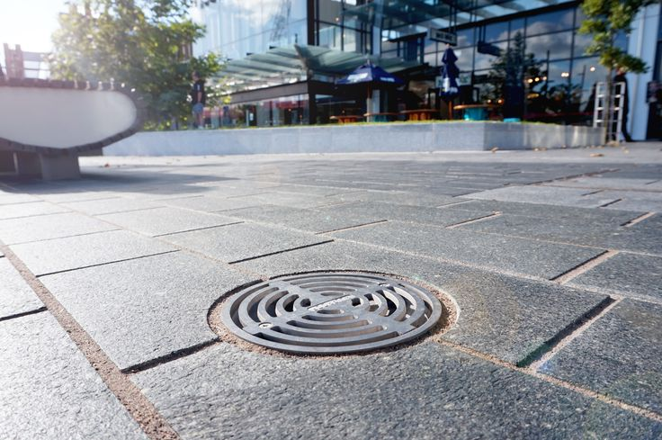 Round Storm Drain at Westgate Shopping Mall