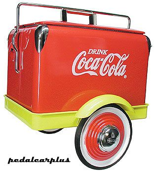 coca cola coolers on wheels google search