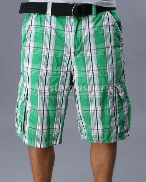 Men's Shorts. Pattern