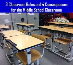 Read about three great rules to have in a middle school classroom and how to effectively enforce those rules