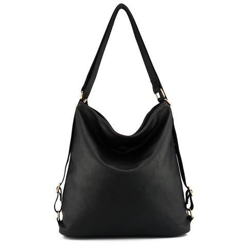 [EBay] Artificial Leather Shoulder Bag Female Big Handbag Women Black Color New Arrival Totes Bags Woman Hobos