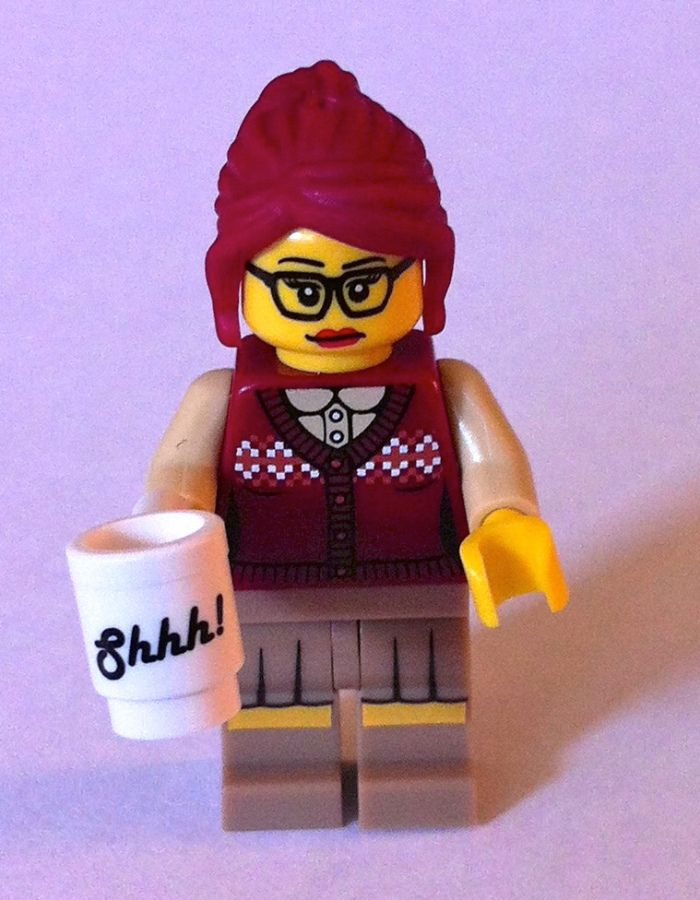 28 Lego Librarians (PHOTOS) | Joe Hardenbrook                                                                                                                                                     More