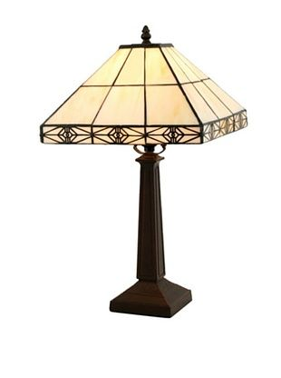 61% OFF Legacy Lighting Simply Mission Table Lamp, Burnished Walnut