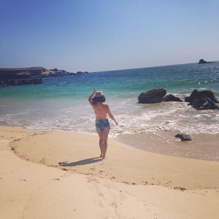 Playa blanca, Caldera, chile