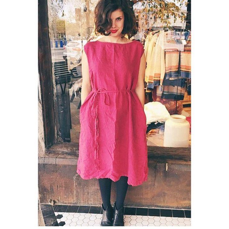 Metta Anna Linen Dress