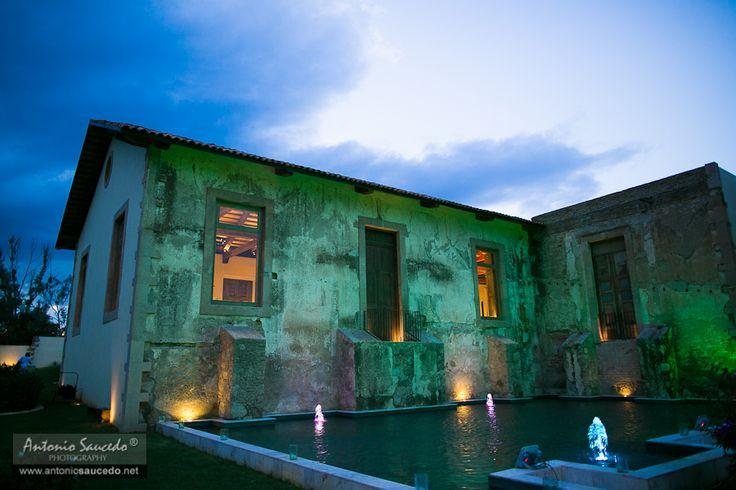 Una hacienda genial... en lo que muchos estan llamando la campiña mexicana... #mexico #wedding #sky #landscape #classy