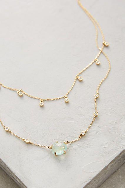 Shennin Layer Necklace #anthrofave #anthroregistry