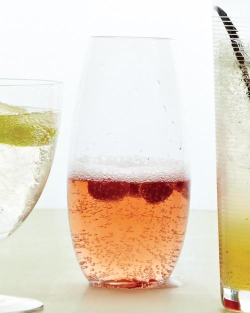 Rosy Raspberry Spritzer - Martha Stewart Recipes