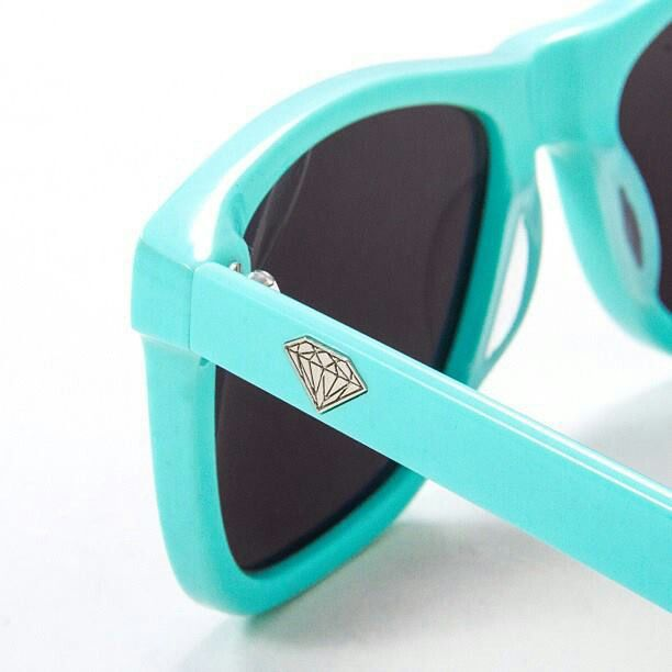 New Vermont Sunglasses in Diamond Blue.  Diamond Supply Company.