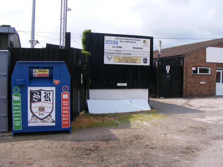 Community Recycling Project earning funding for Stafford Rangers