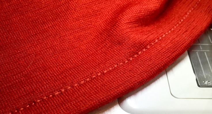 Do not fear to sew stretchy materials. Here is a great tip for sewing stable hems on stretchy knits. It is easier than you think.