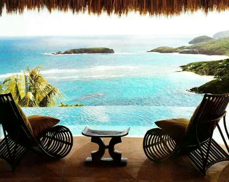 Would be nice drinking some cocktails with this view