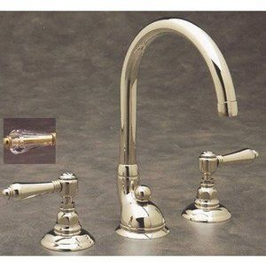 Rohl, Bathroom Faucets, Rohl 2 Lead Free Compliant Double Handle Widespread Lavatory  Faucet With Swarovski Crystal Lever Handles From Th