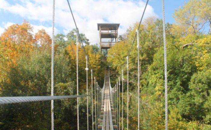 There's An Adventure Park Hiding In The Middle Of A Minnesota Forest And You Need To Visit
