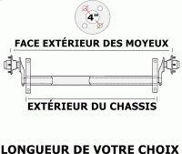 ESSIEUX TORSION - Pieces de remorques